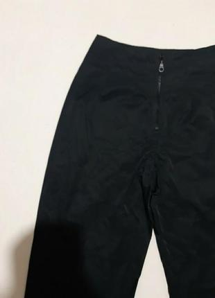 Шикарные плащевые брюки-мом, высокая посадка