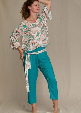 Женский домашний костюм из вискозы key lhs 950 2 a21