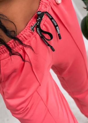 Спортивный штаны на резинке со стрелками
