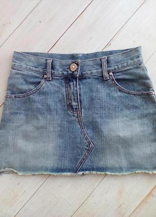 Мини юбка miss poh jeans