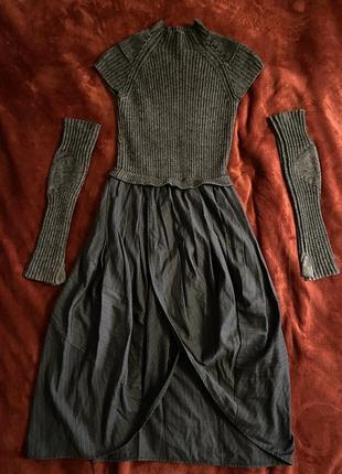 Шерстяное платье / платье lanvin