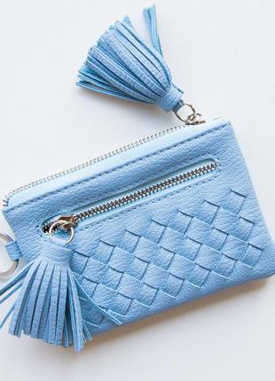 Стильний гаманець в трендовому кольорі (2 відділи)