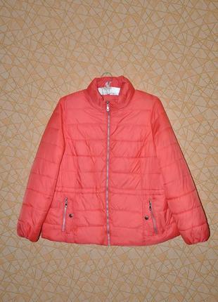 Легкая курточка кораллового цвета тм 'm&s' р-р 20 uk, 48 eur, 54 rus