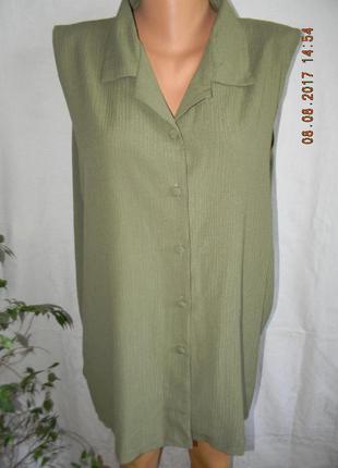 Новая вискозная блуза