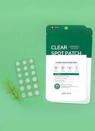 Антибактріальні патчі від вугрів some by mi 30 days miracle clear spot patch