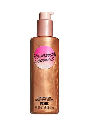 Бронзер, бронзатор victoria´s secret pink bronzed coconut body bronzer