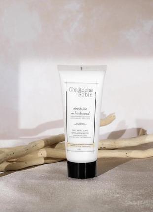Крем для волос christophe robin daily hair cream with sandalwood 100 мл