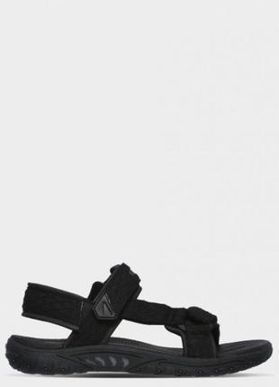 Оригінальні чоловічі сандалії skechers relaxed fit (65524 blk)