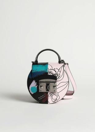 Женская кожаная сумка in paint знаменитого итальянского  бренда сумок cromia