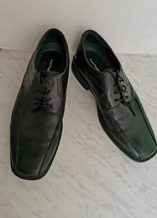 Кожаные туфли hush puppies стелька 29.5 см