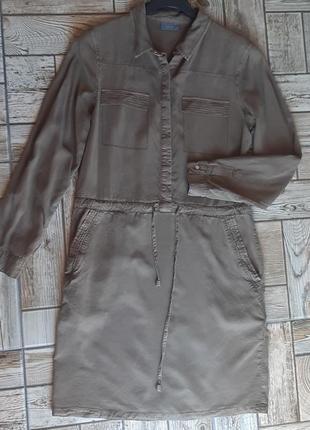 Стильное платье-рубашка