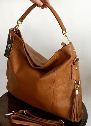 Женская кожаная сумка malte, италия