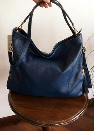 Женская кожаная сумка malte, diva's bag италия