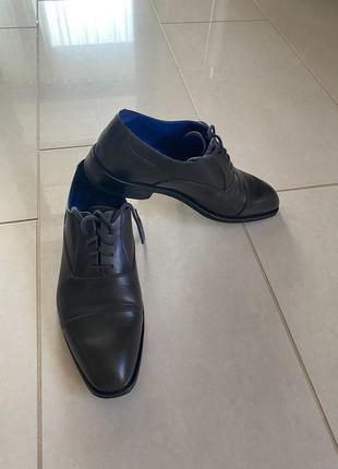 Туфли кожаные классика navyboot размер 41,5
