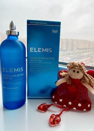 Elemis body oil олія для тіла