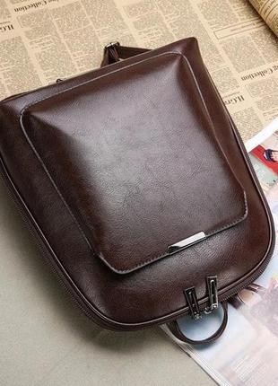 Женский классический рюкзак.