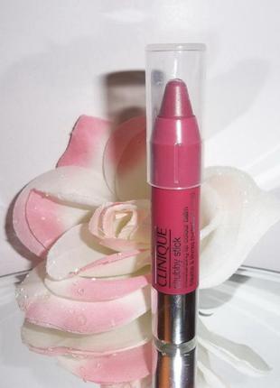 Clinique помада-бальзам для губ chubby stick moisturizing lip colour balm №07