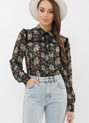 Шифоновая невесомая красивая блузка