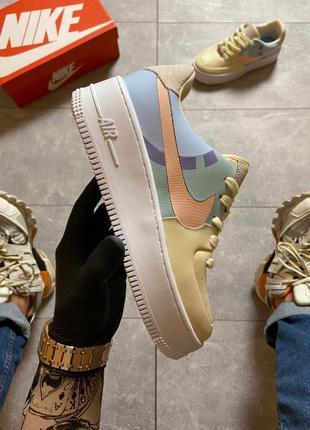 🔥 nike air force 1 sage low lx beige/pale