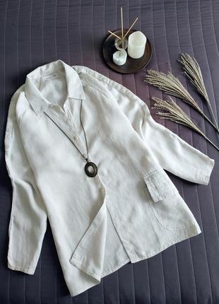 Sale! льняная рубашка, туника (100% лён) прямого кроя