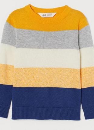 Реглан, свитер h&m для мальчика р.122/128 (арт.991087)