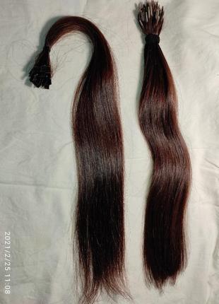 Волосы для наращивания, 2 пучка новые и после 1 наращивания