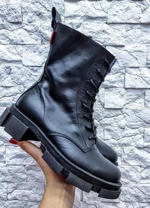 Кожаные ботинки spring