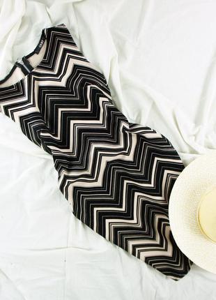 Изумительное платье с замшевым принтом quiz