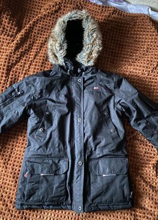 Куртка аляска дико модная