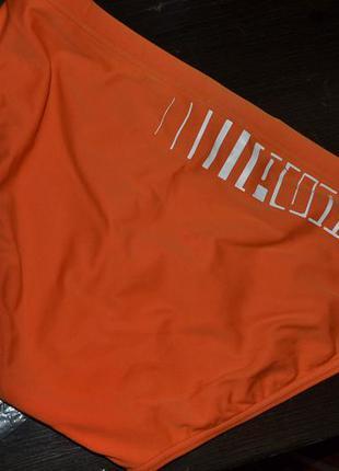 Бомбезные купальные плавки puma ( оригинал )  ярко-оранжевые на мальчика 12-14 лет