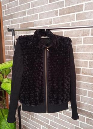 14 размер, xl, оригинальная курточка, обманка (кофта с желеткой) под шею
