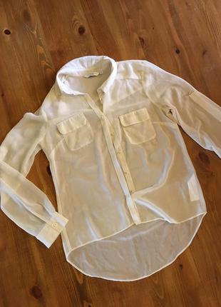 Нежная прозрачная блуза new look