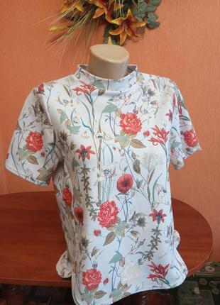 """Блуза""""ніжний цвіт"""""""