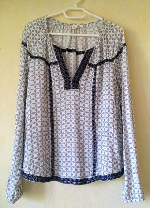 Блуза-рубашка gap видео с подиума размер l