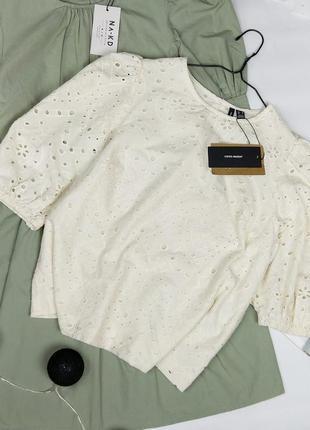 Новая блуза из прошвы vero moda