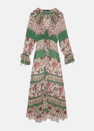 Нереальное платье zara