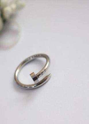 Ювелирное кольцо сталь
