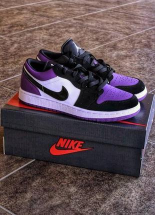 Nike air jordan 1 low violet