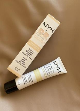 Тональний зволожуючий bb крем nyx professional makeup bb cream