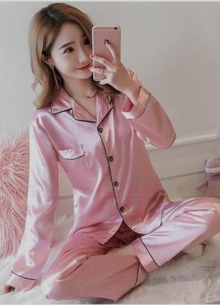 Женская пижама шёлковая