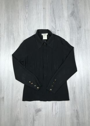 Женская блуза рубашка ysl yves saint laurent