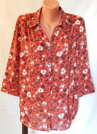 Блуза от  m&s(размер 18)