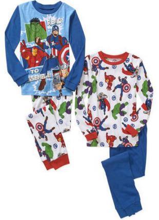 Пижамки   супергерои мстители на мальчика 8-10 лет из америки