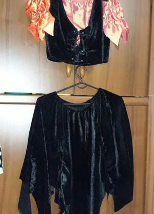 Костюм ведьмы волшебницы кикиморы аниматор хэллоуин хеллоуин  карнавал маскарад