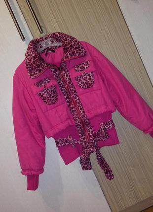 Оригінальна  курточка на осінь +подарунок шапка !