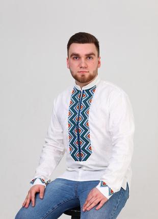 Чоловіча вишита сорочка (512)