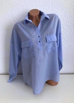 Легкая летняя рубашка zara