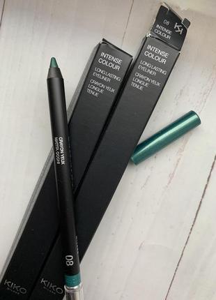 Стойкий карандаш kiko milano long