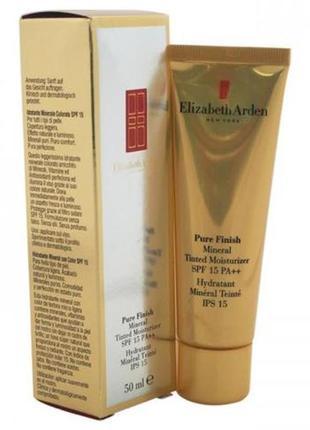 Elizabeth arden pure finish mineral tinted moisturizer spf 15. новый!