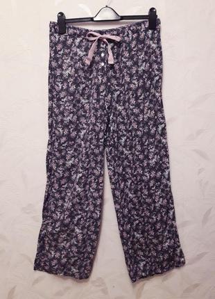 Уютные, тонкие, мягкие домашние штанишки, 48, вискоза, boux avenue